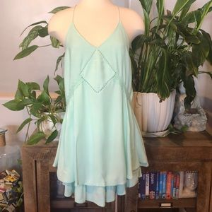 Fashion on Earth Mint Green Dress•szL